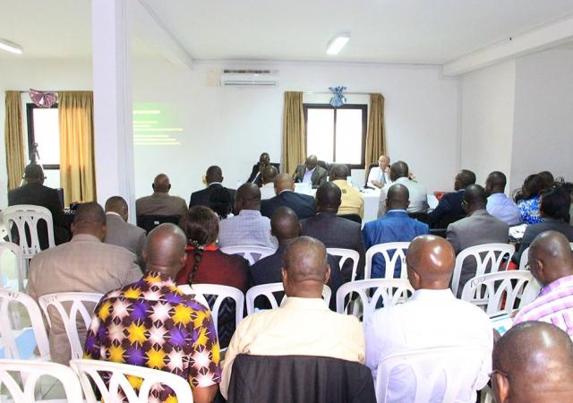 Avant dernière étape avant la création de la faitière unique des mutuelles de Côte d'Ivoire : la conférence des mutuelles tenue le 03 décembre 2015 à Abidjan