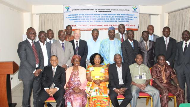 La gestion des risques longs au coeur d'un atelier de l'UEMOA du 03 au 05 Aout 2016 à Abidjan