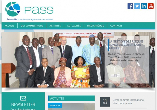 www.pass-mut.org                           Une nouvelle version du site internet du PASS vous attend !