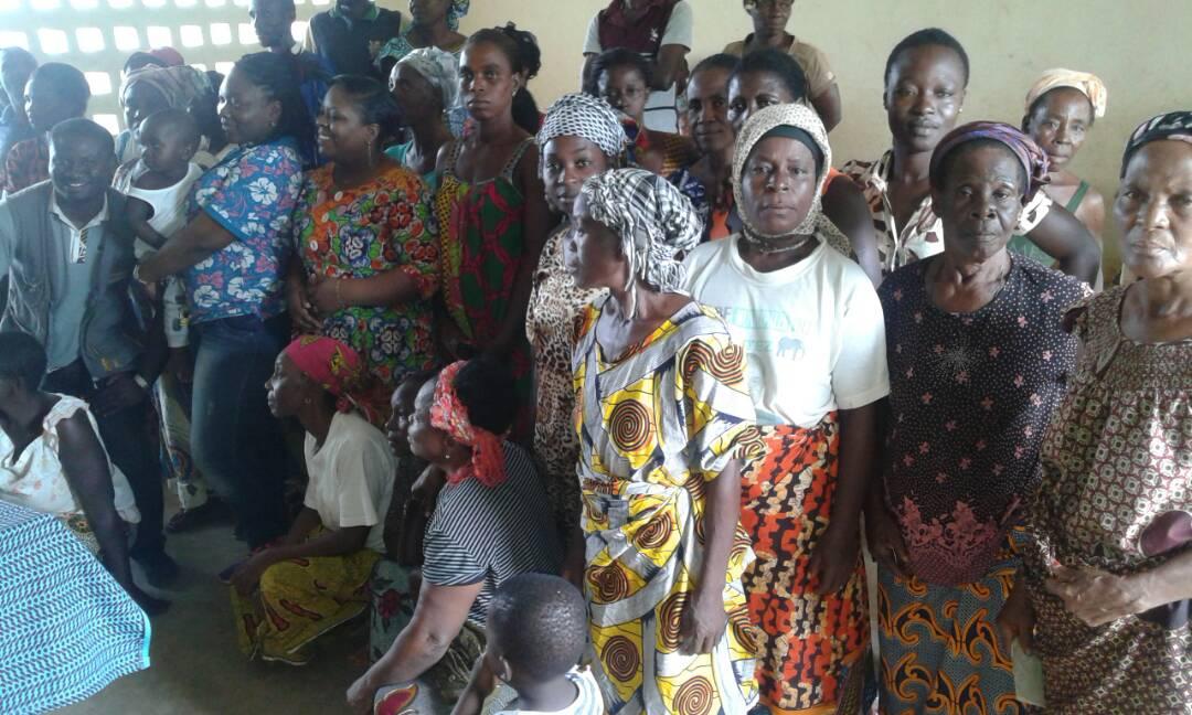Le PASS sensibilise les populations rurales à la mutualité - 22 au 26 Mai 2017 à Gagnoa (Côte d'Ivoire)