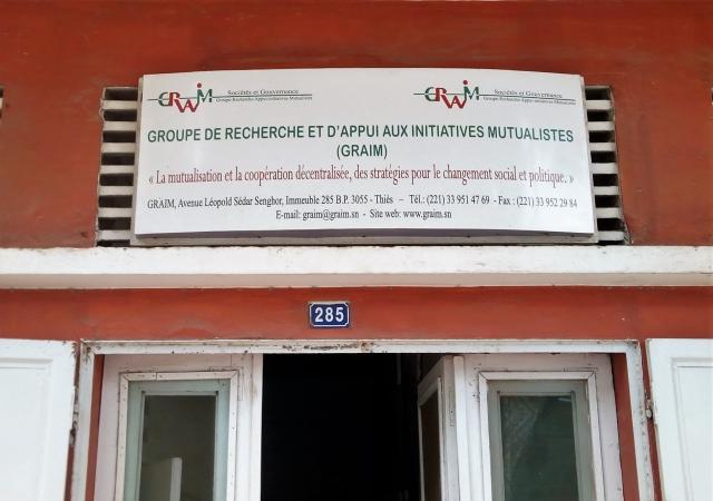 Rencontre avec le Groupe de recherche et d'appui aux Initiatives Mutualistes (GRAIM) - 24 juillet 2017 à Thiès
