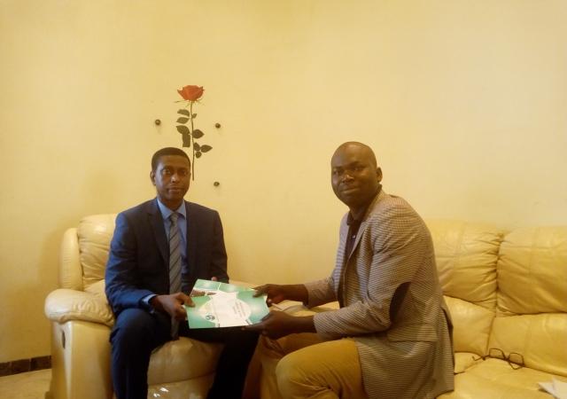 Visite à la Fédération Nationale des Mutuelles du Sénégal (FNMS) - 25 Juillet 2017 à Dakar