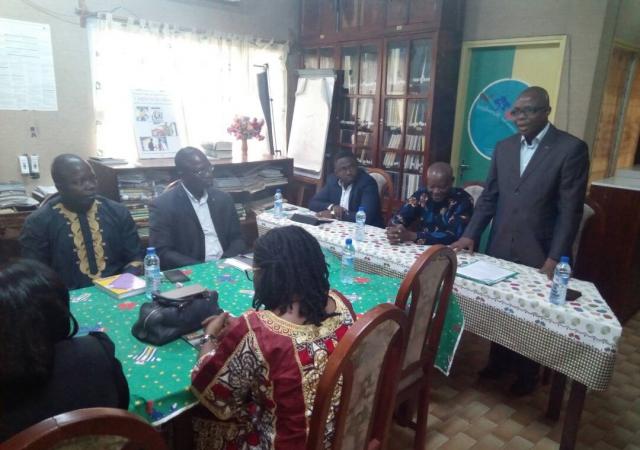 Signature de Partenariat entre le PASS et l'UADC - 25 Octobre 2017 à Cotonou