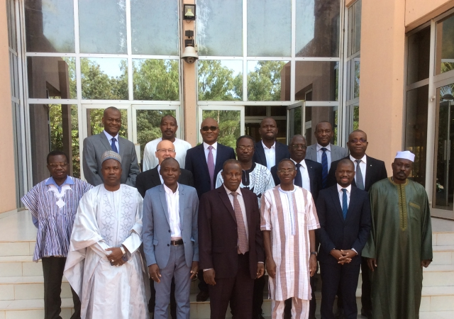 7è réunion du Comité Consultatif de la Mutualité Sociale de l'UEMOA, le PASS y était - 28 au 30 Novembre 2017 à Ouagadougou (Burkina Faso)