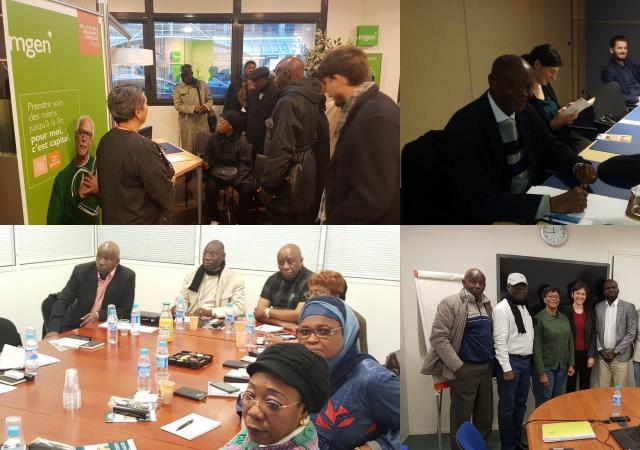 activit s les autres visites de la d l gation africaine paris 22 au 23 novembre paris. Black Bedroom Furniture Sets. Home Design Ideas