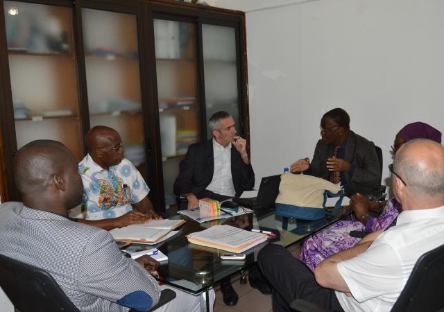Rencontre avec la Mutuelle des Travailleurs et des Retraités du Privé de Côte d'Ivoire - 24 Janvier 2018