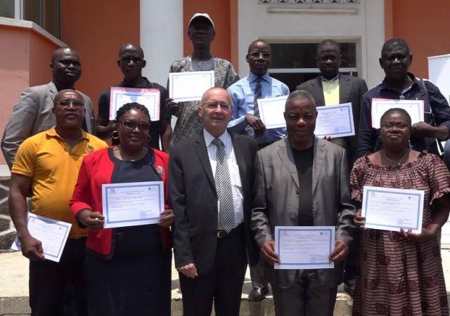Session de formation avec les dirigeants de la mutuelle générale du personnel des collectivités territoriales - 08 Mars 2018 à Abidjan (Côte d'Ivoire)