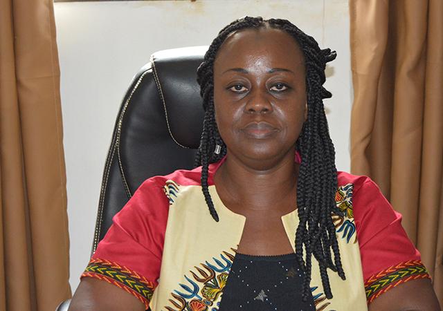 Cissé Makouéni Delphine, Vice-présidente de la Mutualité Ivoirienne