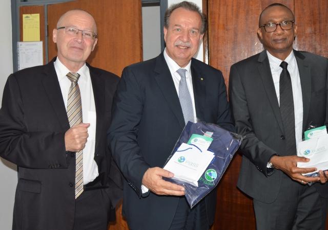 Visite du secrétaire général de l'AISS dans les locaux du PASS - 25 Avril 2018 à Abidjan (Côte d'Ivoire)