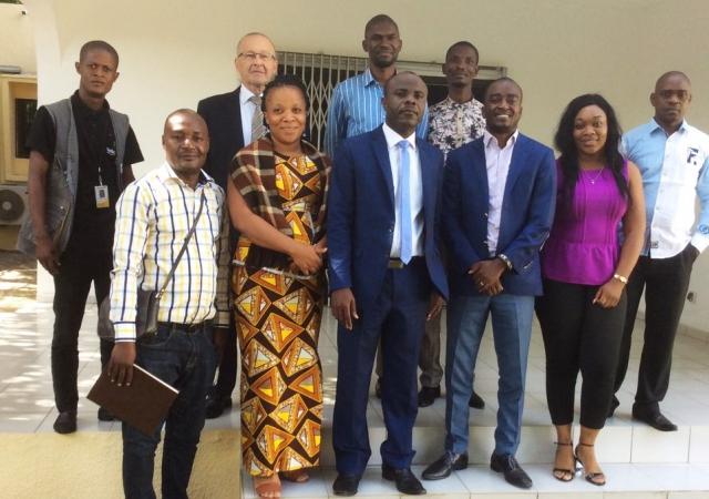 Mondelez International, l'Ong Solidaridad et le Pass vers une couverture santé des cacaoculteurs de Diégonéfla - 19 Avril 2018 à Abidjan (Côte d'Ivoire)