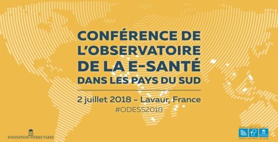 Conférence 2018 de l'Observatoire de la E-Santé dans les pays du Sud - 02 Juillet 2018 à Lavaur (France)