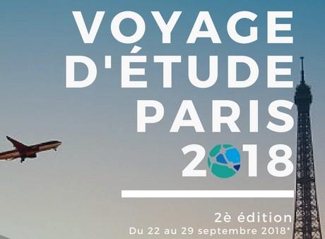 Voyage d'étude des mutuelles à Paris 2018, les inscriptions se poursuivent jusqu'au 30 Juin 2018