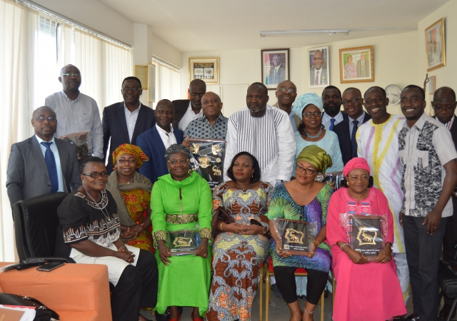 Les mutualistes Camerounais apprennent à l'école mutualiste Ivoirienne du 23 au 27 juillet 2018
