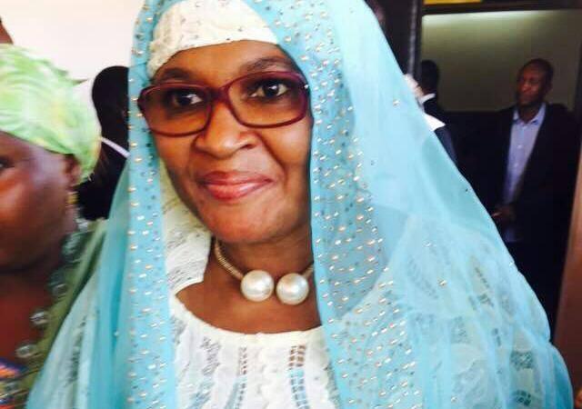 Mme Aziz Mahamane Doutchi Haoua, Directrice de l'Agence Nigérienne de la Mutualité Sociale