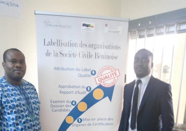 Les rencontres institutionnelles au Bénin