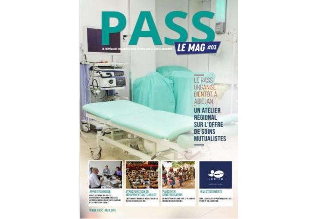 Pass le Mag n° 3 est disponible sur le site internet du Pass !