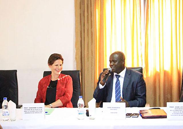 Bientôt des formations certifiantes en gouvernance mutualiste en Côte d'Ivoire ! Voici ce qu'a annoncé la délégation de l'Université de Versailles aux mutualistes ivoiriens, à Abidjan ,le 11 décembre 2015