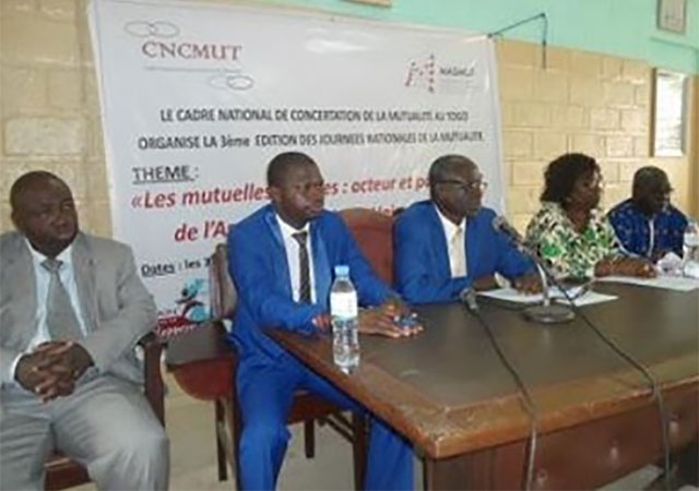 Journées nationales de la mutualité au Togo du 30 Novembre au 1er Décembre 2015, le secteur informel en ligne de mire
