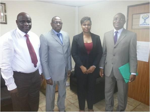 Rencontre entre l'UEMOA, UAM-AFRO et le PASS - 08 Juin 2015 à Ouagadougou (Burkina Faso)