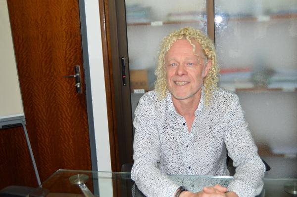 Dominique KIRCHHOFF, médecin et responsable projet Vendôme Côte d'Ivoire