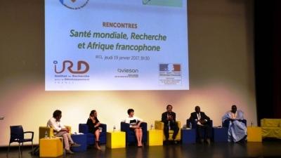 ''La Santé mondiale, Recherche et Afrique francophone'' - 19 janvier 2016, à Abidjan