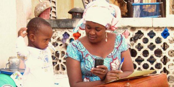 Djantoli, le suivi des petits par e-diagnostics au Burkina et au Mali