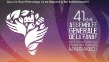 41ième Assemblée Générale de la FANAF - 13 au 16 février 2017 au Maroc