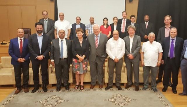 Le Présidium de l'Association Internationale de la Mutualité rencontre ses membres marocains - 27 Avril à Marrakech (Maroc)
