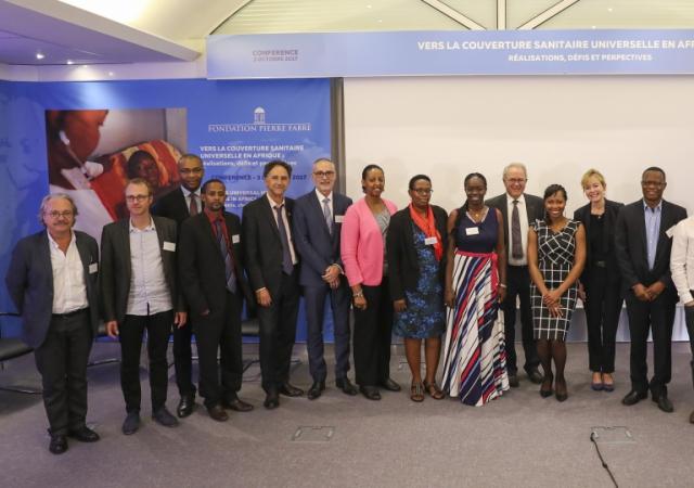La fondation Pierre Fabre mène la réflexion sur la Couverture Santé Universelle en Afrique - 03 Octobre 2017 Lavaur (France)
