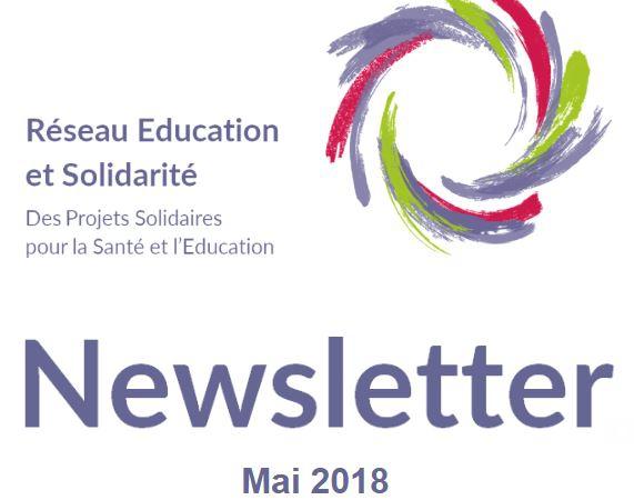 Newsletter Réseau éducation - Mai 2018