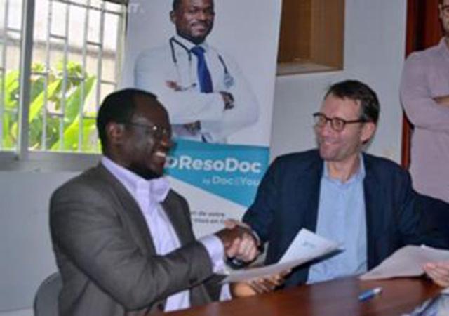 Resodoc et Wake up Africa pour le développement de la télé-cardiologie en Côte d'Ivoire
