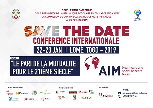L'AIM organise une importante conférence à Lomé - 22 au 23 Janvier 2019 (Togo)
