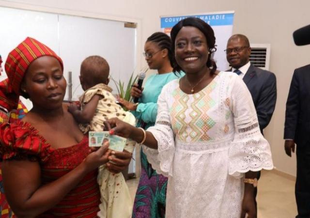 Des personnes économiquement démunies désormais assurées par la CMU - 23 Novembre 2018 à Yamoussoukro (Côte d'Ivoire)
