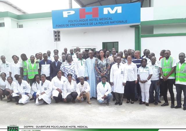 L'Hôtel médical du Fond de Prévoyance de la Police Nationale ouvre ses portes - 15 Décembre 2018 à Abidjan (Côte d'Ivoire)
