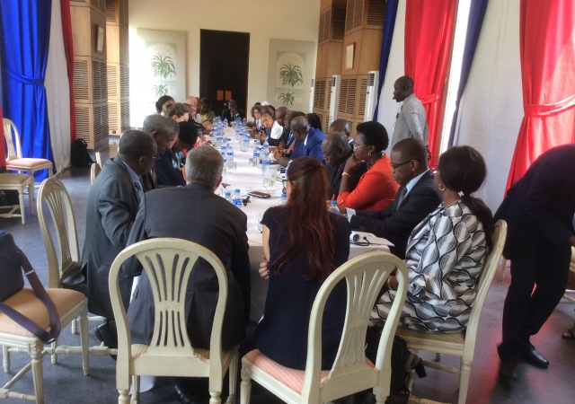 L'Ambassadrice de France santé mondiale en terre ivoirienne - 19 Décembre 2018 à Abidjan (Côte d'Ivoire)