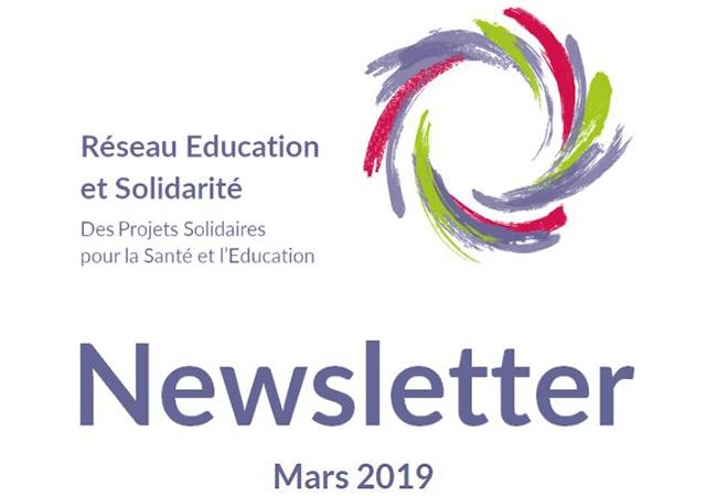 Newsletter Mars 2019 du Réseau Education et Solidarité