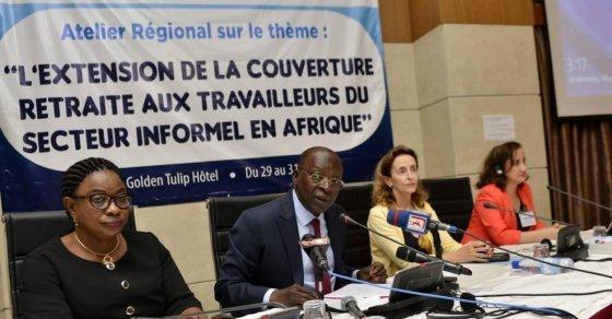 Le Bénin réfléchit avec ses partenaires sur l'extension régime de retraite au secteur informel - 31 Mai 2019 à Cotonou (Bénin)