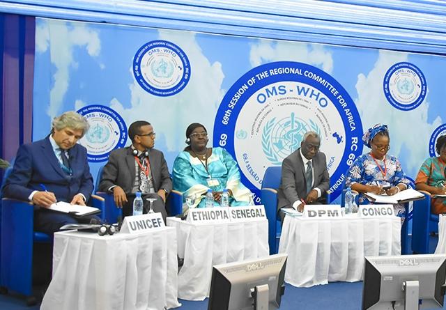 L'OMS Afrique assurera la couverture vaccinale pour chaque enfant d'ici 2030 - 22 Août 2019 à Brazzaville (République du Congo)