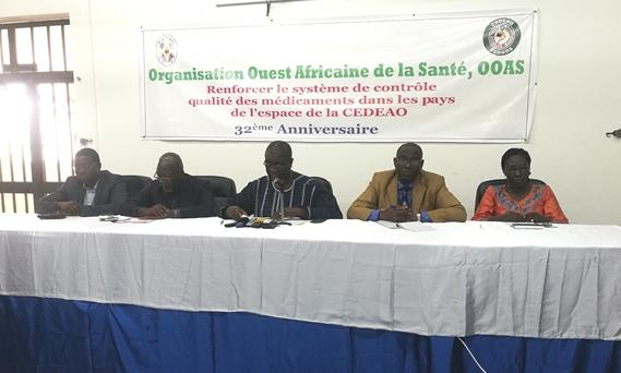 Célébration du 32ème anniversaire de l'Organisation ouest-africaine de la santé (OOAS) - 20 Août 2019 à Lomé (Togo)