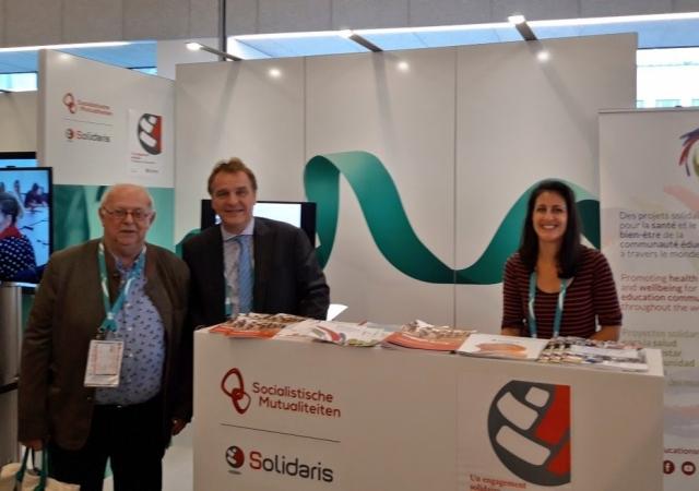 La mutualité solidaris et le réseau éducation et solidarité ont participé au forum mondial de la sécurité sociale - 14 au 18 octobre 2019 à Bruxelles (Belgique)