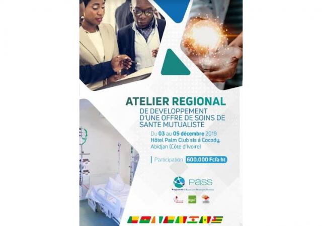 Atelier régional sur l'offre de soins de santé mutualiste - 3 au 5 décembre 2019 à Abidjan
